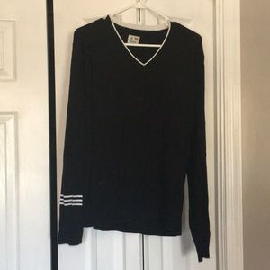 Adidas v neck golf sweater